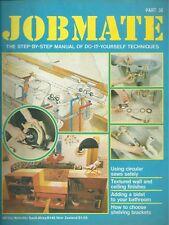 JOBMATE 36 DIY - AN EXTRA BATHROOM. USING CIRCULAR SAWS. TEXTURED WALLS. SHELVE