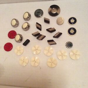boutons anciens art deco