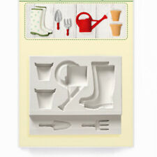 Garden Series Fondant Silicone Craft Mould Home DIY Sugar Soap Candle Clay Molds