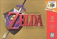 LEGEND OF ZELDA: OCARINA OF TIME {Nintendo 64} *AUTHENTIC* OOT RPG Genuine N64