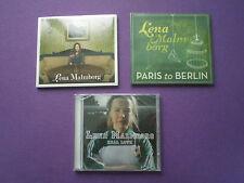 LENA MALMBORG Lot 3 CD's SEALED MINT Folk Rock Indie