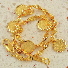 Personality 9K Solid Gold Filled Ladies Bracelet F1036