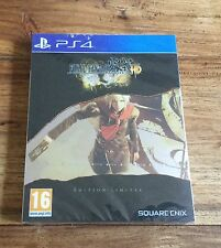 Final Fantasy Type-0 HD Édition Limitée Steelbook PS4 Playstation 4 Neuf Blister