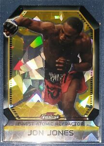 2011 Topps UFC Finest JON JONES Rookie RC Atomic Refractor FAR-8 Bones Jones