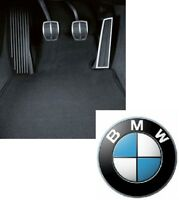 BMW Genuine Tailored Floor Mats Set Velour Anthracite E87 1 Series 51477265422