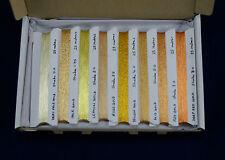 8 Paquete de selección de sombra, hilo de oro real japonés, 200 M, 8x25M de cada goldwork