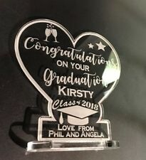 personalised Graduation Gift A Level Degree  Passing Exams Card FREE GIFT BAG