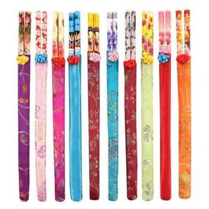 Decorative Oriental Chopsticks in Pretty Pouch Jones Home & Gift (1, 5 or 10)