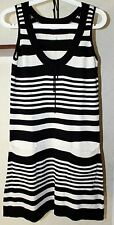 Gudrun Sjoden Striped Sleeveless Dress With Front Pockets Size S/M