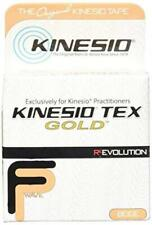 "Kinesio Tex Gold FP 2"" x 16.4"" Beige Single Roll Healthy Beauty Care, New"