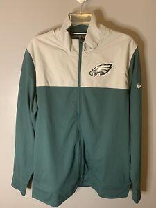 $90 Nike NFL On Field Philadelphia Eagles Coaches Jacket NKB6-003K Sz Medium NWT