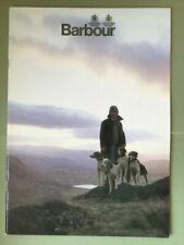 Barbour Catalogue