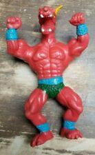 MUSCLE WARRIORS 1985 RED Beast figure galaxy sewco motu ko bootleg