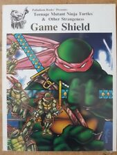GAME SHIELD - TEENAGE MUTANT NINJA TURTLES RPG - PALLADIUM BOOKS - NEW & SEALED