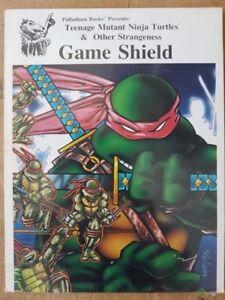 GAME SHIELD - TEENAGE MUTANT NINJA TURTLES RPG - PALLADIUM BOOKS - NEW & SEALED