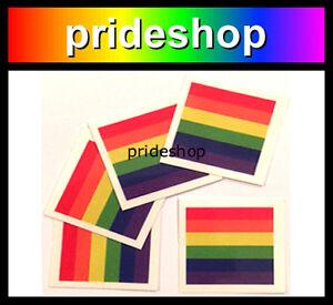 Rainbow Flag Tattoo Temporary Gay Lesbian Pride Packet of 5 Aussie Seller #1055