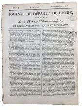 Napoléon à Erfurt 1813 Campagne d'Allemagne Sébastiani Isenbourg Bremen Bar