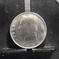 CIRCULATED 1958 1 FRANC BELGIUM COIN (10118)R1...FREE DOMESTIC SHIPPING
