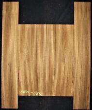 Guitar Luthier Tonewood ZEBRAWOOD Acoustic backs sides SET back and sides