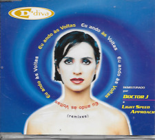 DIVA - Eu Ando Às Voltas (Remixes) CDM 6TR Pop House 1997 Portugal RARE!