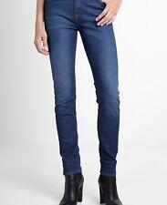 "Neues AngebotDamen Lee Elly Slim Straight Denim Jeans-blau-w29"" l31"" - Bnwt"