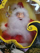 Vintage 1993 Disney Nightmare Before Christmas Santa in BOX hand puppet