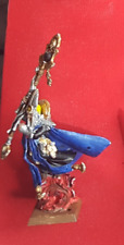 ISLAND OF BLOOD HIGH ELF MAGE - OOP PAINTED BASED AOS FANTASY WARHAMMER RARE!!!!