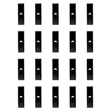 20 PCS BLACK Gridwall Utility  Hook Picture  Hanger Grid  Panel Notch Display