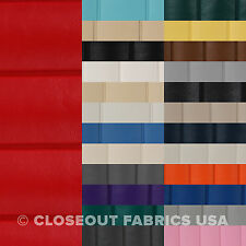 Pleated Marine Vinyl Fabric - Boat Auto Outdoor Upholstery - 1.5