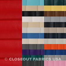 "Pleated Marine Vinyl Fabric - Boat Auto Outdoor Upholstery - 1.5"" Pleats"