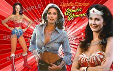 Lynda Carter (Wonder Woman) Fan Made Poster Print 11 X 17