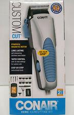 NEW Conair Custom Cut 18 piece Home Haircutting Kit Hair Clippers FREE SHIPPING
