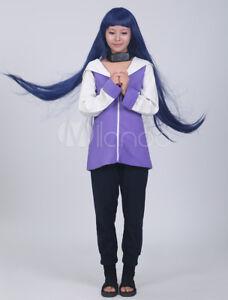 Halloween Costumes girls Japanese Anime Naruto Hinata Hyuga cosplay without wig