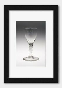 Wine Glass. England or Netherlands. Date: 1755-1785 Print