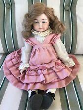 Vintage Artist Reproduction Antique Kammer Reinhardt All Bisque Doll