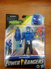 Power Rangers Beast Morphers Beast-X Blue Ranger 6? Figure