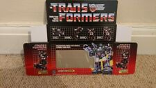 TRANSFORMERS HOUND AUTOBOT G1 SERIES (BOX ONLY)