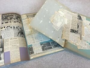 1960's and 1970's Horse Racing themed Scrapbooks & Loose Clippings