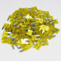 Mini Blade Fuse 20 Amp 20A Amps Yellow ATM Auto Car Bike Fuses All Quantities