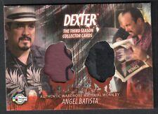 DEXTER SEASON 3 (Breygent) COSTUME CARD #D3 - C13 ANGEL BATISTA