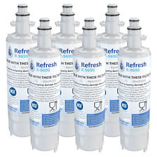 Fits Kenmore LT700P Refrigerator Water Filter Replacement - by Refresh (6 Pack)