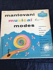 """EXC """"MANTOVANI MUSICAL MODES"""" LP FROM 1956 Vintage vinyl record"""