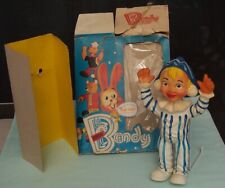 Vintage Bendy Andy Pandy Foam Doll with folded down box. England. c1960's