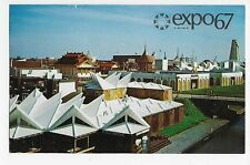 Expo 67 Montreal Canada International Showing Africa Place Vintage Postcard