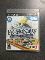 Pictionary -- Ultimate Edition (Sony PlayStation 3, 2011)