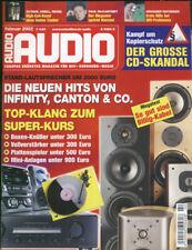 Audio 2/02.,Oktave HP 300/RE 280 MK II, Revel F 50, Krell DVD , Infinity ,Canton