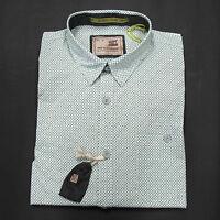 Grau mit Blumendruck UVP 59,95 € No Excess Poloshirt kurzarm