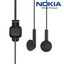 Black Original Genuine Nokia Headphone Earphone Handsfree For Nokia Phone WH-102