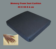 Memory foam Seat Cushion for pressure free sitting. Ideal for wheel chair