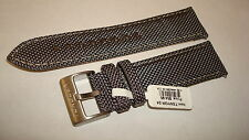 TORGOEN GENUINE FACTORY  REPLACEMENT NYLON TEX BAND GREY 24MM - BRAND NEW!